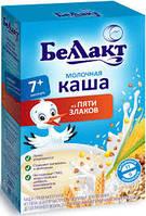 Молочная каша Беллакт из 5 злаков, 200 г