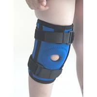Наколенник детский Алком Размеры 1-4 4035 Kids Бандаж(ортез) на коліно неопреновий з ребрами жорсткості