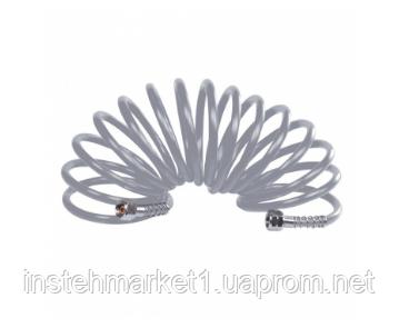 Спиральный шланг Forte SHC-10NPU NEW (Длина шланга: 10 м) к компрессорам, фото 2