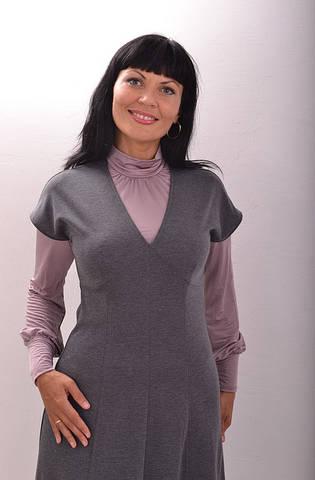 Платье женское трикотажное ПЛ 691551