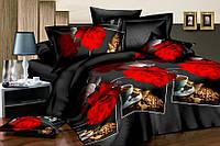 Двуспальный набор постельного белья 180*220 из Ранфорса №213 Черешенка™