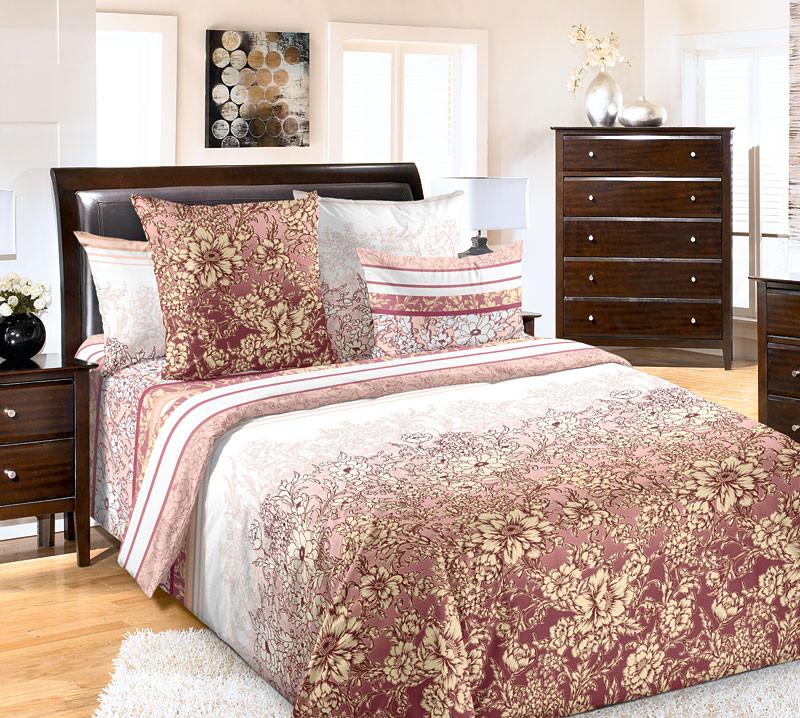 Комплект постельного белья двуспальный, бязь Летиция