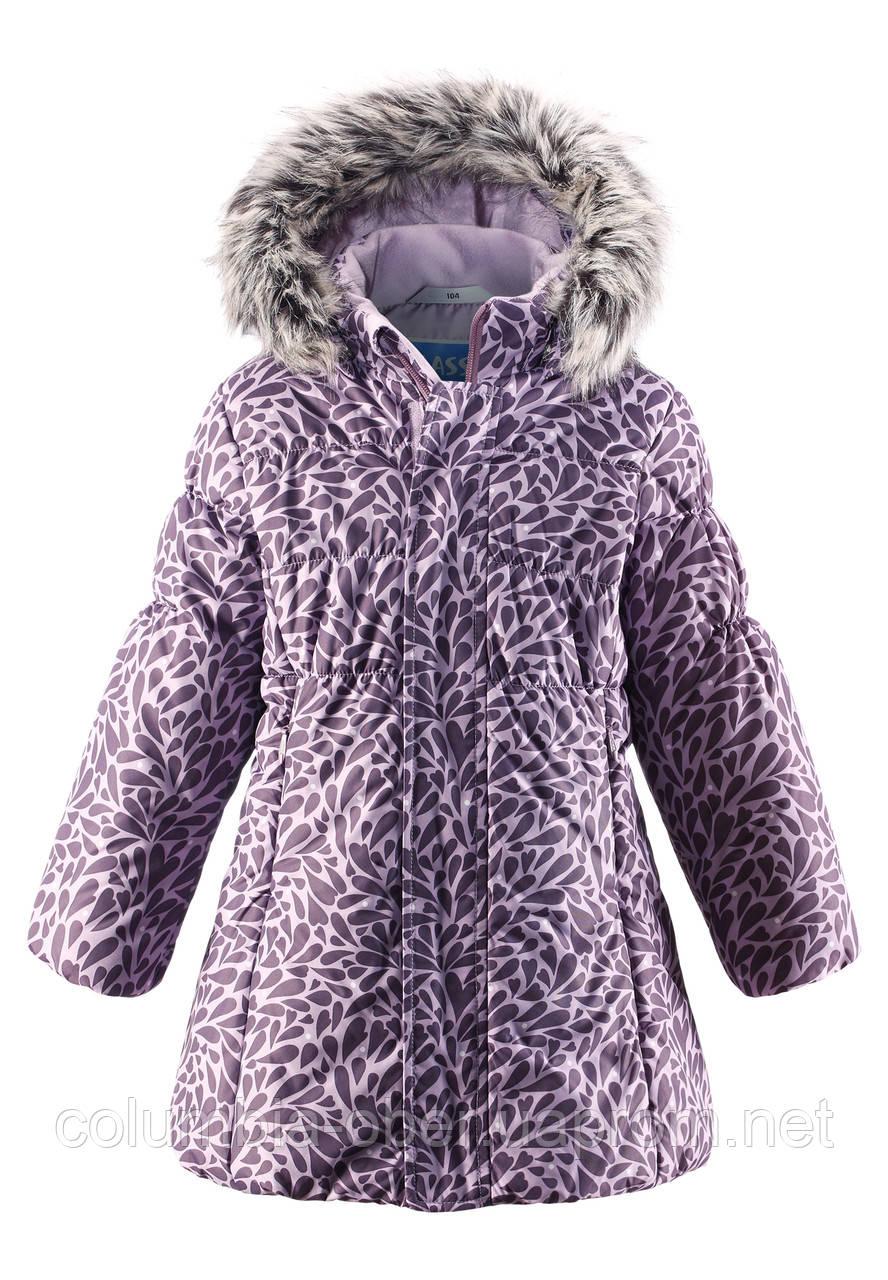 Зимнее пальто для девочки Lassie by Reima 721698 - 5121. Размеры 92 - 110.
