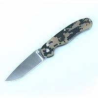 Нож Ganzo G727M (черный, зеленый, оранжевый, камуфляж)
