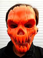 Маска тыквы череп на Хэллоуин