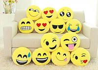 Подушка смайлик, эмоция, emoji