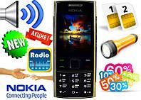 Новая Nokia X2-00 2 sim, Fm, фонарик+ гарантия