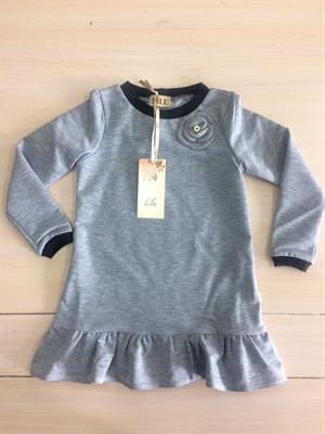 c120f376a43 Платье трикотаж Роза LILU для девочки - Интернет-магазин