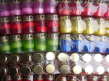 Лампадки пластмассовые 120 шт