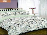 """Комплект постельного белья """"Viluta"""" Platinum № 6 евро Вилюта  № 9708"""