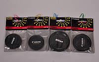 Крышка защитная на объектив Nikon/Canon 58 mm, 58 mm