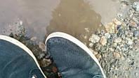 Средство НаноГидроСтоп для защиты обуви от белых разводов