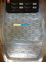 Коврики салона универсальные (силикон прозрачный) (5 шт.к-кт) <ДК> DK-0512