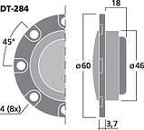 Высокочастотные динамики Monacor DT-284, фото 6