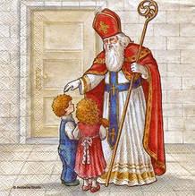 Салфетка декупажная Святой Николай 2595