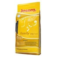 Сухой корм для щенков и кормящих сук Josera Family 15кг