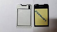 Защитное стекло  Nokia 8800 Arte черное без тонировки original.