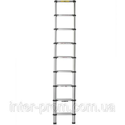 Лестница телескопическая 2.6 м (без чехла)