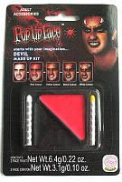 Грим карнавальный чёрно-красный+ два карандаша