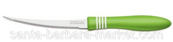 "Нож ""Tramontina"" Cor&Cor томатный 127мм     23462/225(салатный)"