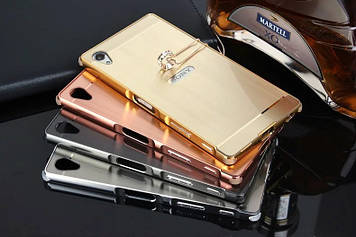 """SONY Z3 D6633 D6603 Оригинальный металлический алюминиевый чехол бампер рамка для телефона """"BOW"""""""