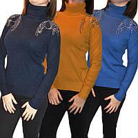 Кашемировые и шерстяные свитера. Поступили модели с камнями. Европа