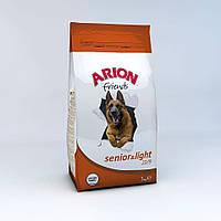 Arion Friends Senior & Light корм для пожилых собак с курицей, 15 кг