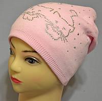 """Утепленная шапка для девочки """"Заза"""""""