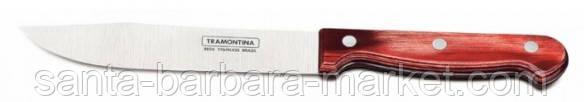 """Нож """"Tramontina"""" Polywood для мяса 152мм (с красной ручкой) 21126/076"""