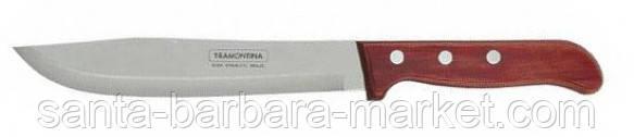 """Нож """"Tramontina"""" Polywood для мяса 178мм (с красной ручкой) 21126/077"""