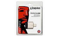 Кардридер Kingston USB 3.0, FCR-MLG4