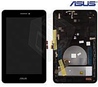 Дисплейный модуль (дисплей + сенсор) для Asus MeMO Pad HD7 ME175KG (K00S), с рамкой, оригинал