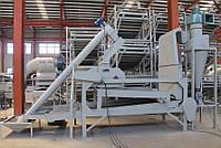 Оборудование для шелушения и сепарации тыквенной семечки TFBGZ-400