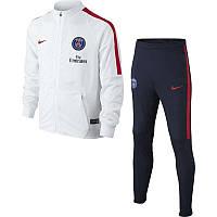 Спортивный костюм Nike, ПСЖ (белый). Футбольный, тренировочный. Сезон 16/17 (реплика)