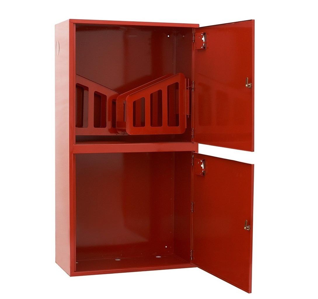 Шкаф пожарный ШПК-322 НО навесной с задней стенкой 1600х600х230мм