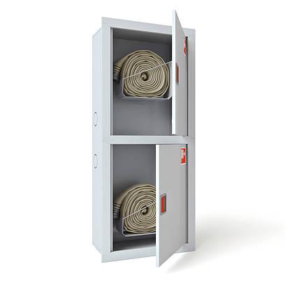 Шкаф пожарный ШПК-321 ВО встроенный без задней стенки 1300х600х230мм, Евросервис (000015118)