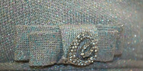 Узор на вязаной шапке