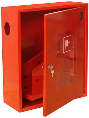 Шкаф пожарный ШПО-305 НО навесной без задней стенки под 1 рукав 540х650х230мм Евросервис (000015811)