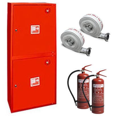 Шкаф пожарный ШПК-322 НО навесной без задней стенки 1600х600х230мм Евросервис (000015814)