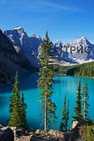 Инфракрасный плёночный обогреватель картина ТРИО Озеро
