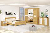 Шкаф 4Д Квадро (Мебель-Сервис)  2198х579х2173мм рисинг эльм , фото 2