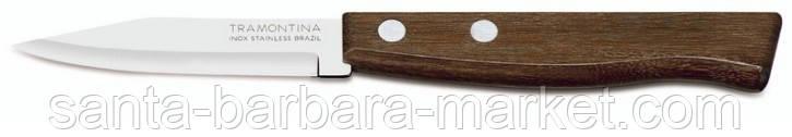 "Нож ""Tramontina"" Tradicional овощной  76мм  22210/203"