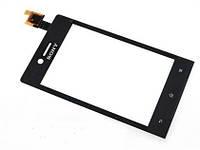 Тачскрин (сенсор) для Sony ST23i Xperia Miro (black) Original