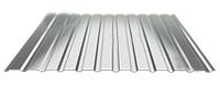 Профнастил ПС 10, алюмо-цинк (0,50мм толщина)