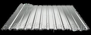 Профнастил ПС 10, оцинкованный (0,35мм толщина)
