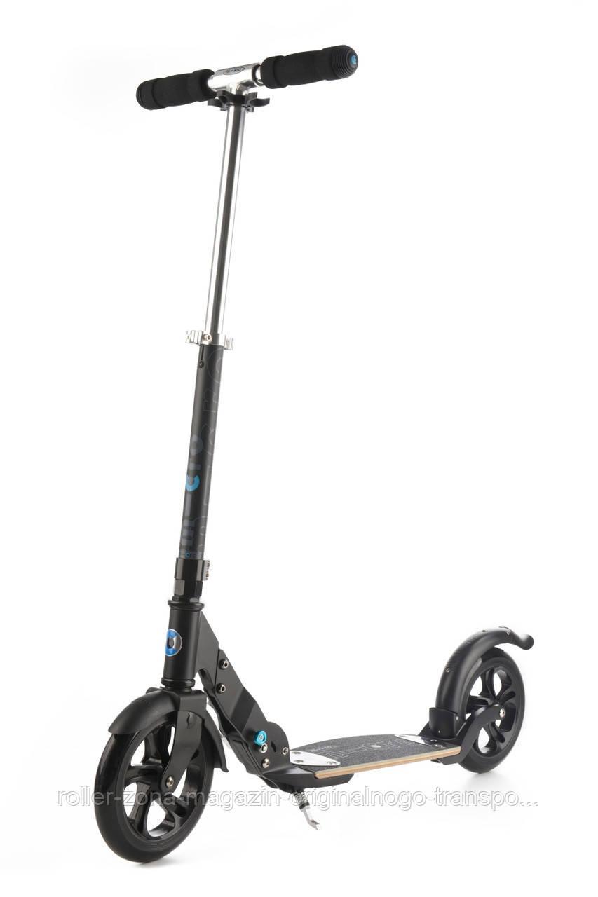 Самокат Micro Flex Black Matt 200