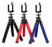 Гибкий мини штатив для фотоаппарата, телефона, видеокамеры.