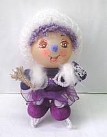 Формовая стеклянная игрушка Девочка Герда
