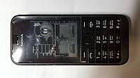 Корпус с  клавиатурой Nokia 220 черный.