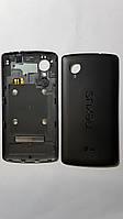 Крышка  задняя  LG D820, Nexus 5 с антенной черная original.